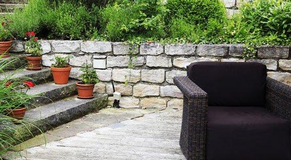 Stipa sprlu -  Terrasse en pierre naturelle